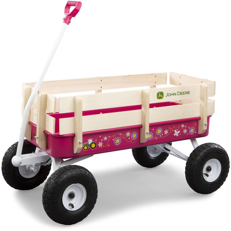 John Deere Pink Stake Wagon by TOMY
