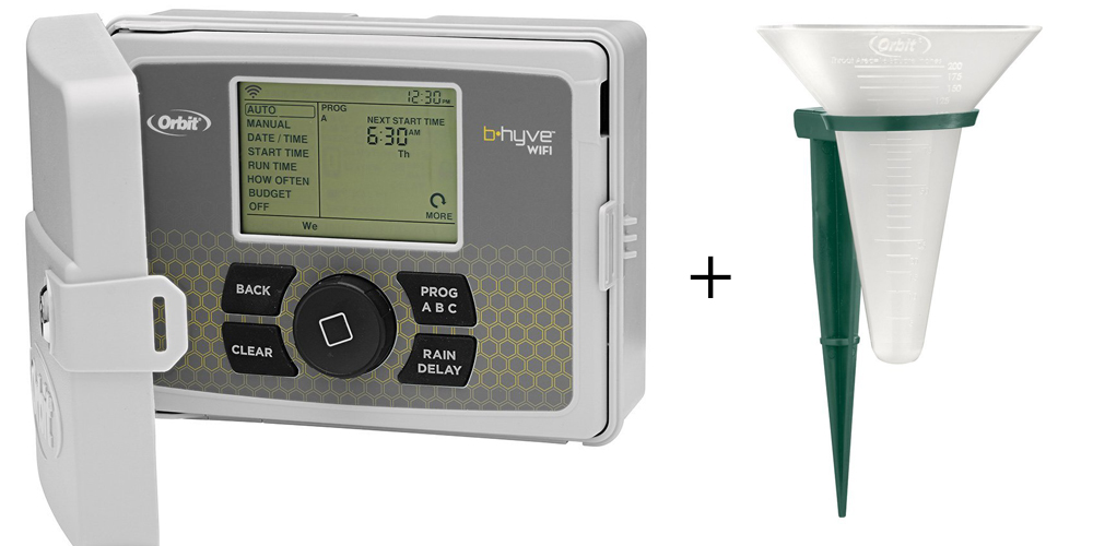 Orbit 57950 B-hyve Smart Indoor//Outdoor 12-Station WiFi Sprinkler CUSTOM RETURN