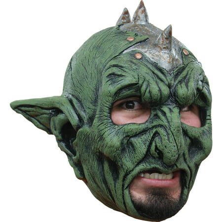 Orc Halloween Masks (Orc Chinless Latex Mask Adult Halloween)