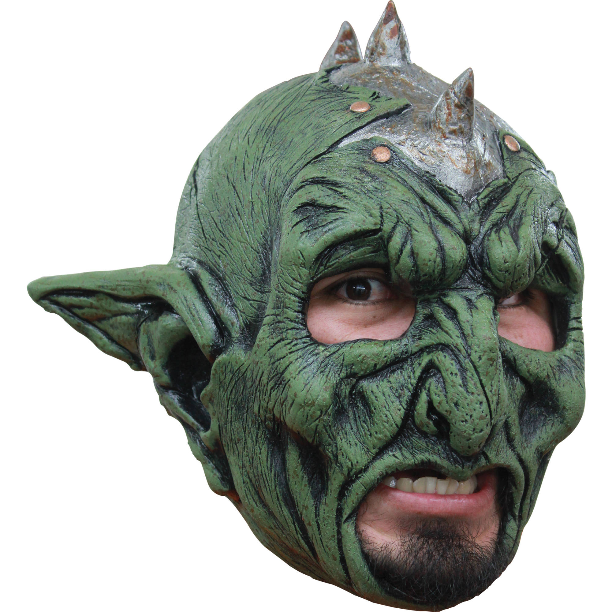 Orc Chinless Latex Mask Adult Halloween Accessory