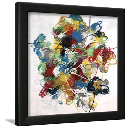 Silly String Framed Print Wall Art By Kari - Cheap Silly String