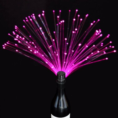 Party Lights Bottlebeams Fiber Optic Bottle Battery Operated Color Changing
