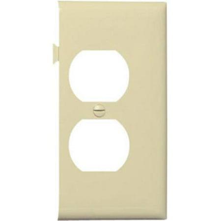 PJSE8I Ivory Sectional Nylon Wall Plate Quantity 1
