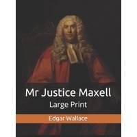 Mr Justice Maxell: Large Print (Paperback)