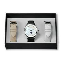 Los Angeles Rams Sparo Women's Three Strap Watch Gift Set - No Size
