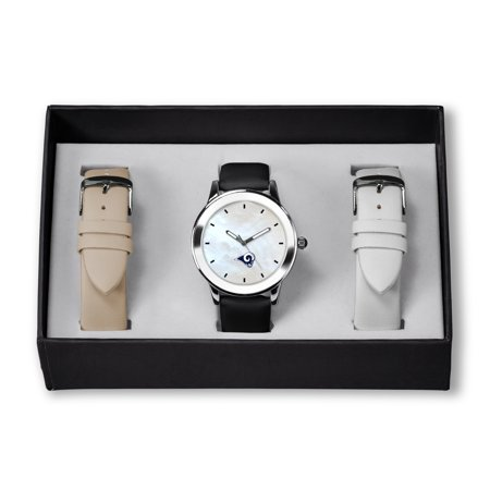 Los Angeles Rams Sparo Women's Three Strap Watch Gift Set - No Size