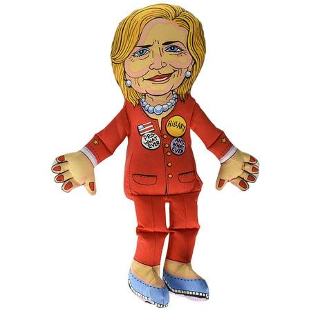 Fuzzu Hillary Clinton Presidential Parody Dog Toy