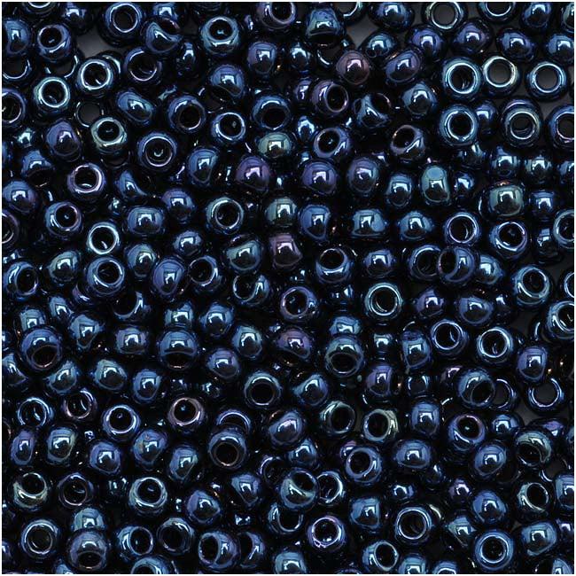 Toho Round Seed Beads 11/0 #88 'Metallic Cosmos' 8 Gram Tube