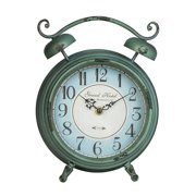 Cooper Classics Mica Table Clock