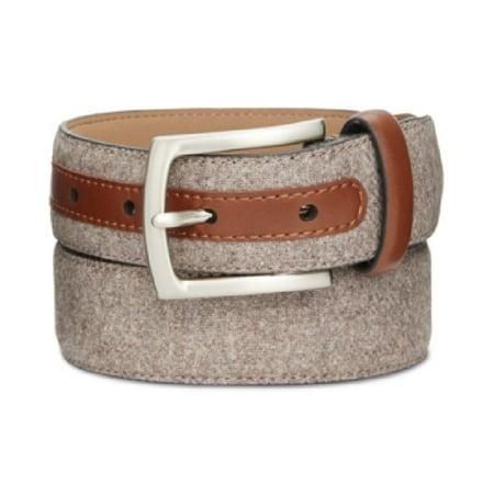 d95e96c07204 Tasso Elba - Tasso Elba NEW Brown Men's Size 38 Feather Edge Fabric Dress  Belt - Walmart.com