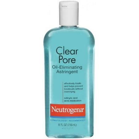 NeutrogenaClear Pore Oil Eliminating Astringent, 8 Ounce (Astringent Oil)