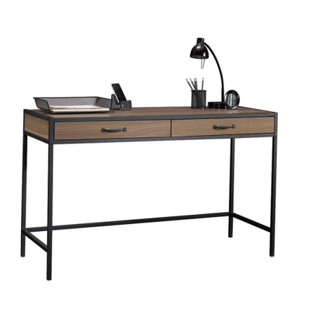 Mainstays Metro Desk with 2 Drawers, Multiple Finishes ()