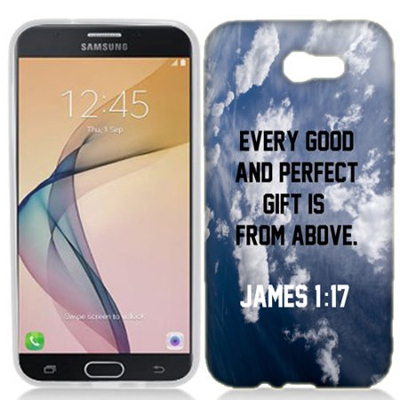 MUNDAZE Gift from Above Case Cover For Samsung Galaxy J7 Perx / Halo / J7 Prime / Sky Pro / J7 - Galaxy Gift