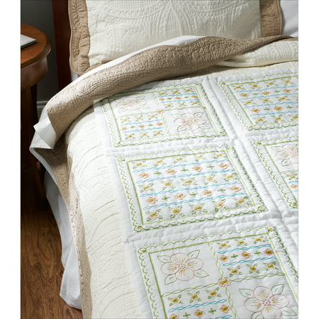 Bucilla  Stamped Cross Stitch - Quilt