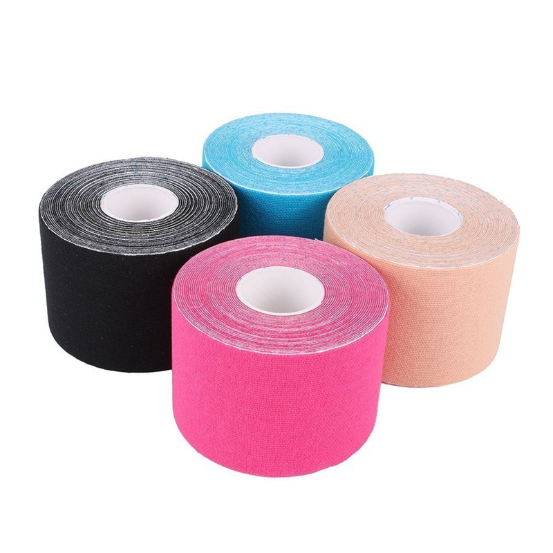 Kinesiology Tape,Adhesive Waterproof Physio Tape for Realignment Physical Therapy,Muscle Support & Recovery Taping,Black