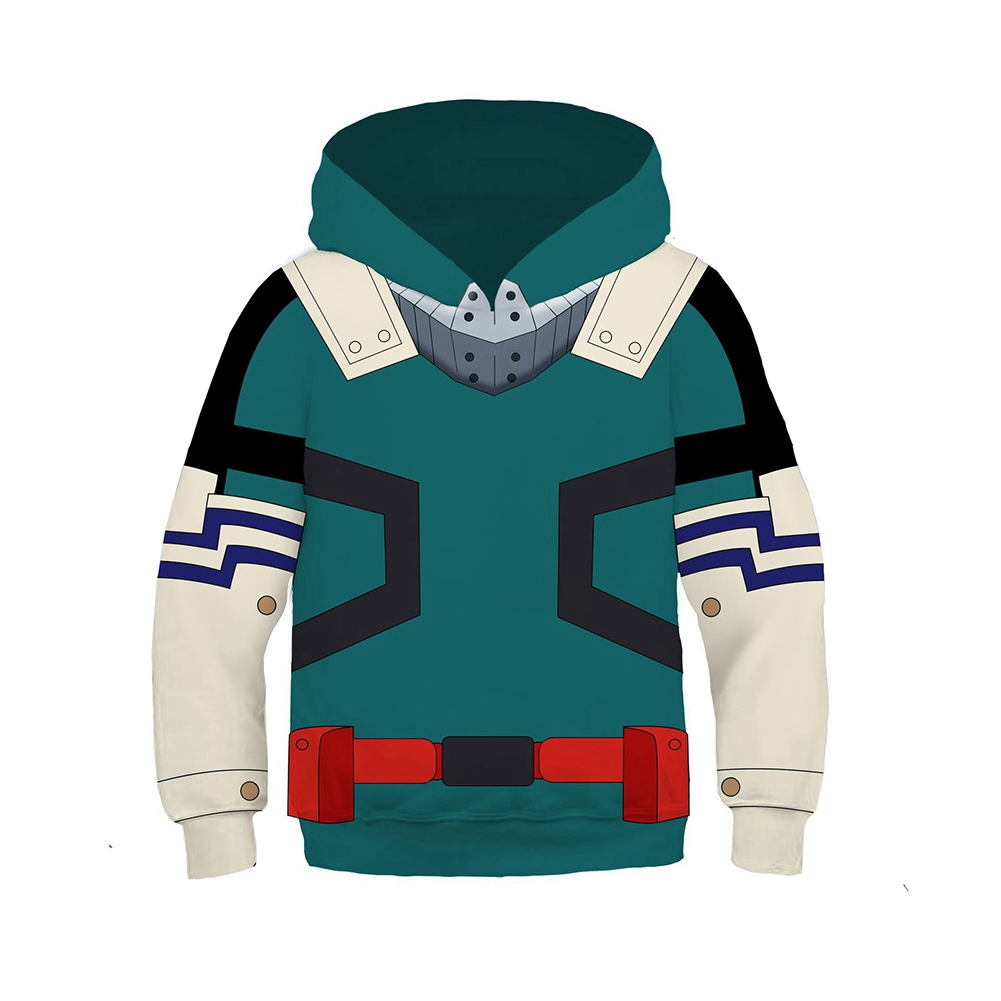New Kid Anime Hoodies 3D My Hero Academia Todoroki Shoto ...