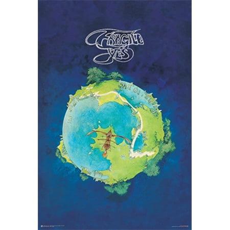 Yes Fragile Album Cover Art Music Poster 24x36 inch Cd Album Cover Art