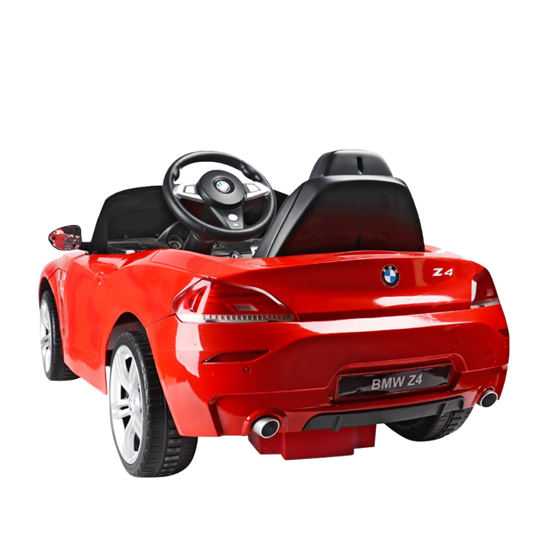 bmw z4 kids 6v electric ride on toy car w parent remote control red walmartcom
