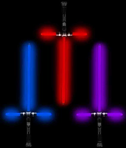 Fun Central AU173 LED 27 Inch Tri-Saber with Sound Multicolor