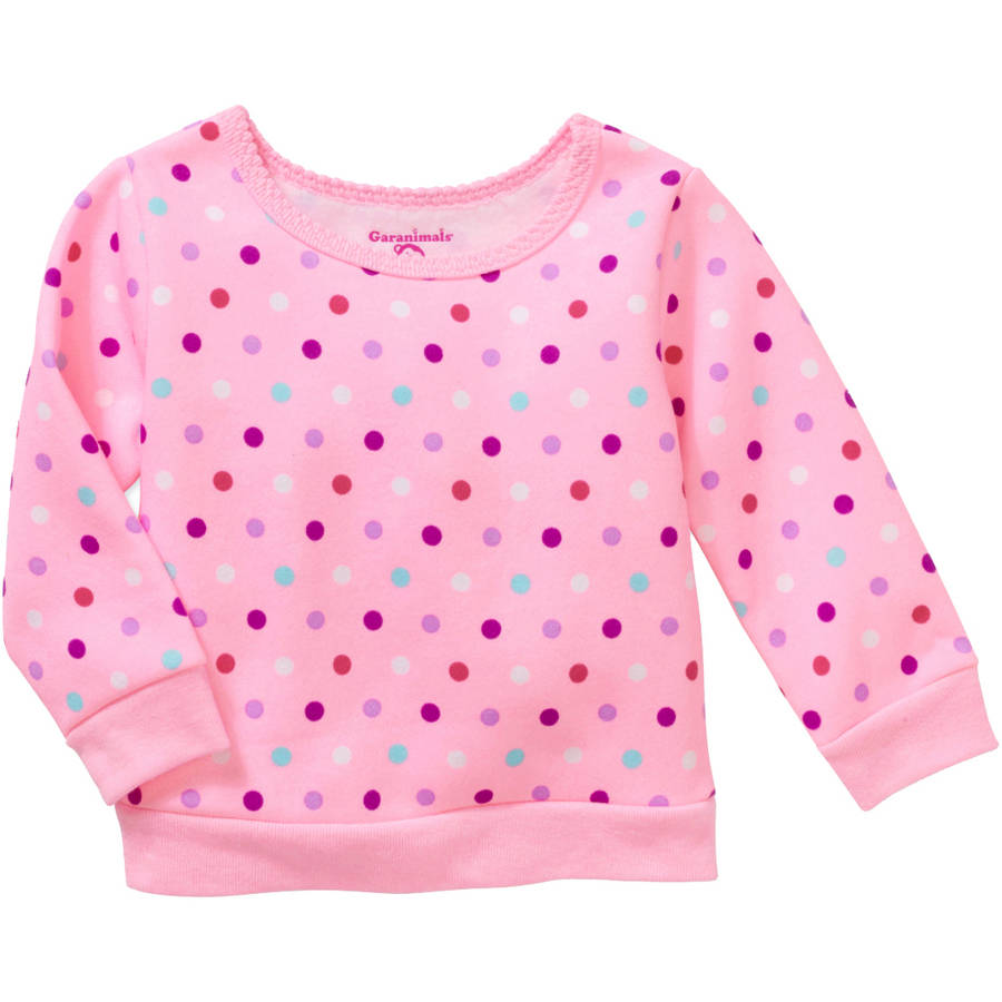 Garanimals Baby Girl Print Sweatshirt