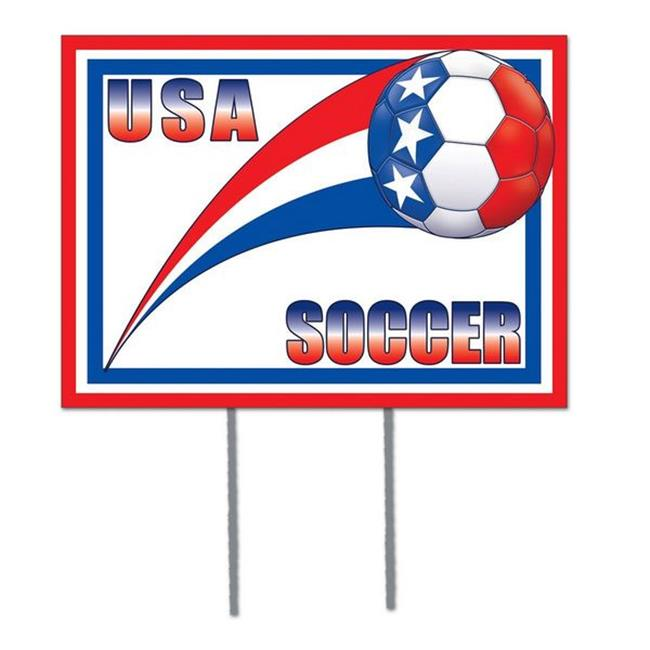 Plastic Yard Sign - United States (Pack of 6)
