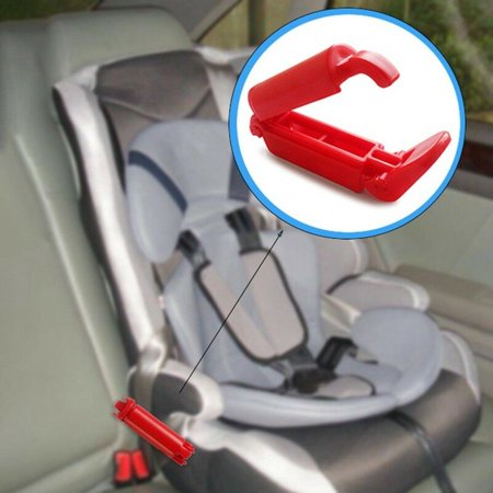 KABOER Safe Car Child Baby Toddler Seat Safety Belt Clip Strap Fixed Lock Buckle Baby Safe Car Seat