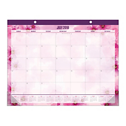 Office Depot R Brand Large Monthly Academic Desk Pad Calendar 22in