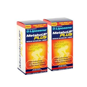 Lipozene MetaboUP Plus Diet Pills for Increased Metabolism & Energy, Tablets, 60 Ct