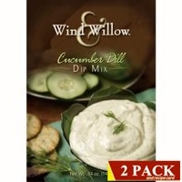 Wind & Willow  Gourmet Cucumber Dill Dip Mix  2-pack