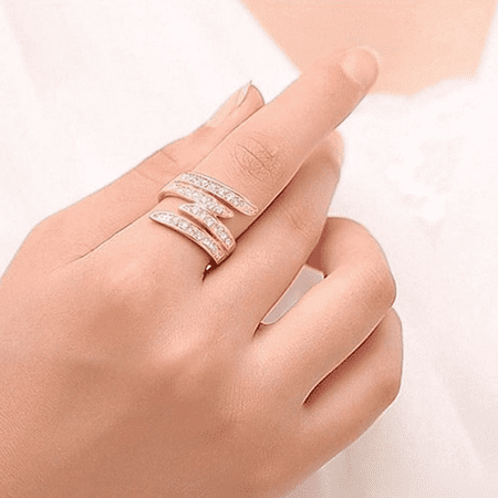 F.S. Angel Promise Ring - image 1 of 2