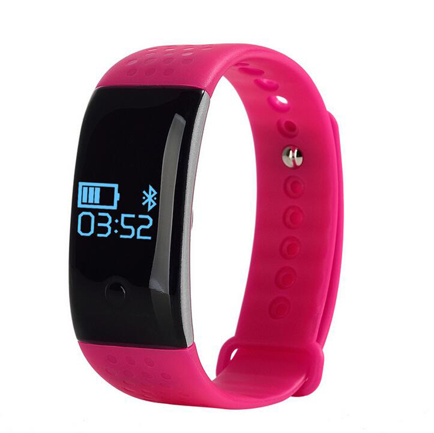 TechComm MX350 Water Resistant Fitness Activity Tracker Heart Rate Monitor
