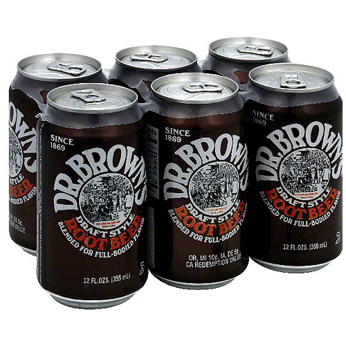 Dr. Brown's Draft Style Root Beer, 72 oz (Pack of 4)