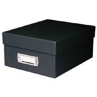 Printfile Photo Storage Box Black - Printfile PH46BLK