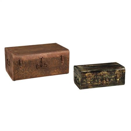 Evergreen Basket (Storage Trunk, Set of 2)