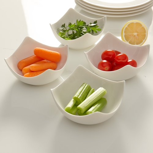 Flato Home Products Deep Appetizer Dish Set (Set of 4)