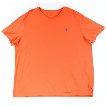Polo Ralph Lauren New Coral Orange Mens Size 2xl V Neck