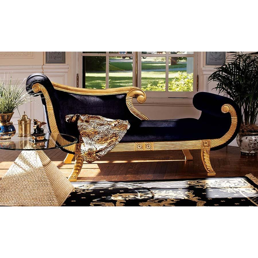 CLEOPATRA CHAISE CHAIR