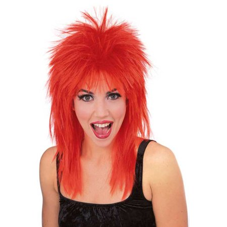 Super Star Punk Rock Rocker 80s Costume Wig R50721/67 (80s Rock Wig)