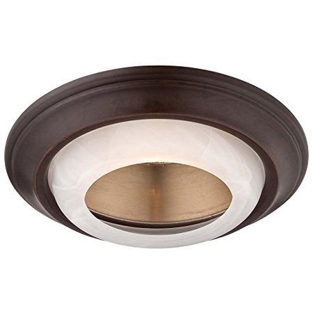 Recessed Trims 2718-37B Round 6 inch 50 watt Halogen Glass Dark Restoration Bronze, Dimensions - 6 Aperture with 8 overall diameter. 1.5 Height By Minka Lavery From USA ()