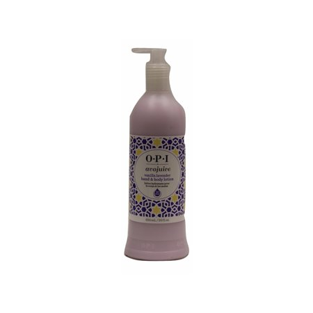 OPI Hand & Body Lotion Avojuice, Vanilla Lavender, 20 Fl Oz (Vanilla Fields Vanilla Body Lotion)
