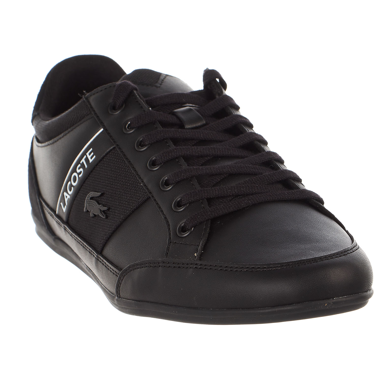 ddf83781b Lacoste - Lacoste Chaymon 318 5 US Sneaker - White Black Leather - Mens -  9.5 - Walmart.com