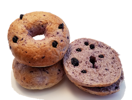 Wild Blueberry Bagels by Supplier Generic