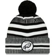Philadelphia Eagles New Era 2019 NFL Sideline Home Sport Knit Hat - Black - OSFA