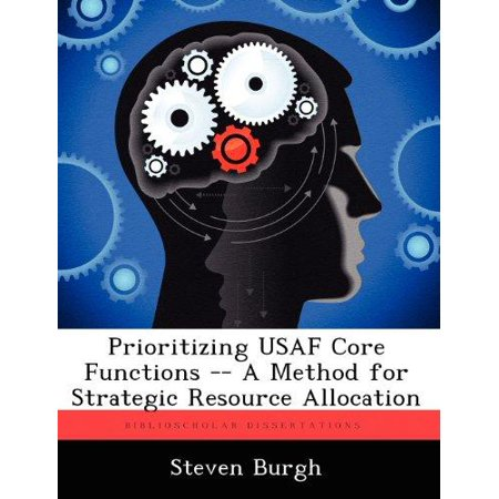 Prioritizing Usaf Core Functions    A Method For Strategic Resource Allocation
