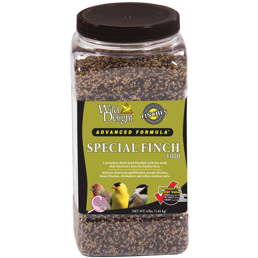 Wild Delight 381340 4 Lb Jar Special Finch Food
