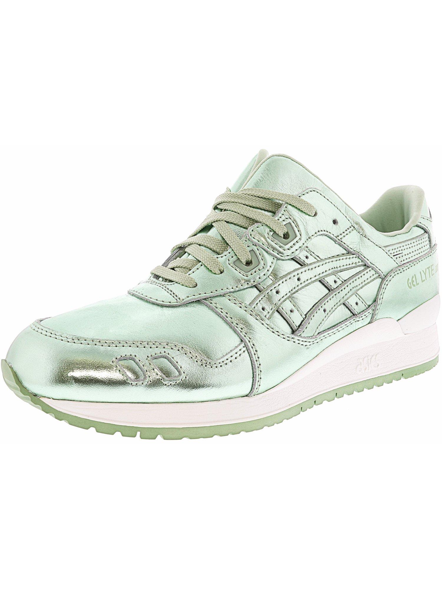 Women's Gel-Lyte 3 Green / Ankle-High Running Shoe - 10M