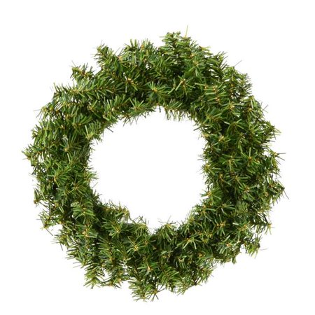Vickerman A802606-6 6 in. Mini Pine Wreath with 80 Tip Count, 6 per Pack - Pack of 24 - image 1 de 1