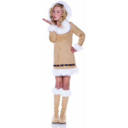 Inuit Girls' Child Halloween Costume - Ad Nightclub Halloween