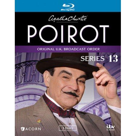 Agatha Christie's Poirot: Series 13 (Blu-ray) - Halloween Party Agatha Christie Movie