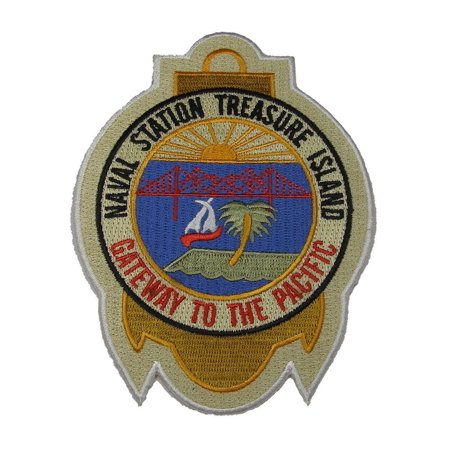 USN NAVY NAVAL STATION TREASURE ISLAND GATEWAY TO THE PACIFIC PATCH SAN FRAN (Gateway Arch Patch)